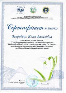 Mirovets sertificate 3